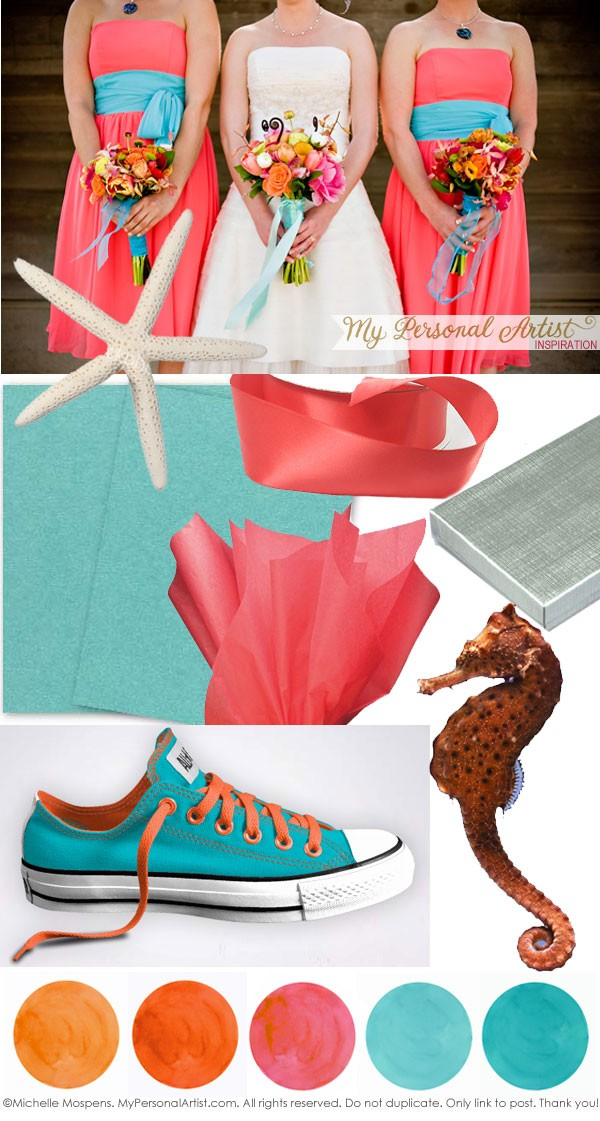 Remarkable Tropical Colors for a Beach Wedding Ideas 600 x 1121 · 156 kB · jpeg
