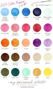 2012-2013 wedding color trends