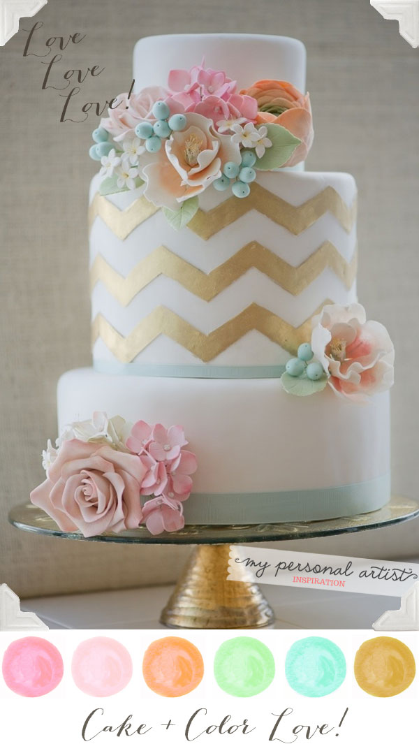 Pics Photos Pastel Wedding Cakes Ideas Bridescom