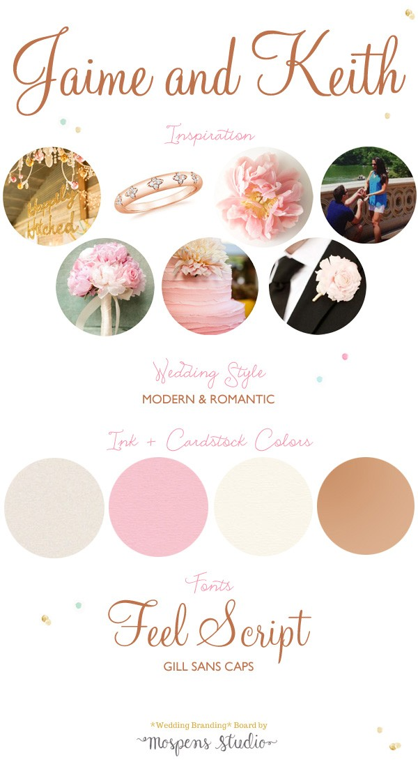 Modern + Romantic Blush Pink Wedding Ideas | Mospens Studio