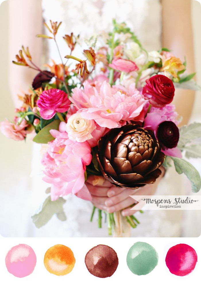 Gorgeous late summer / fall wedding theme color idea | www.mospensstudio.com