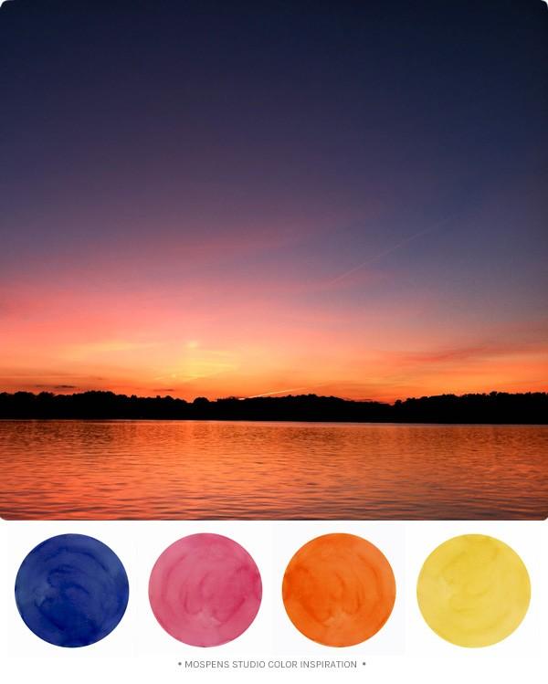 Sunset цвет