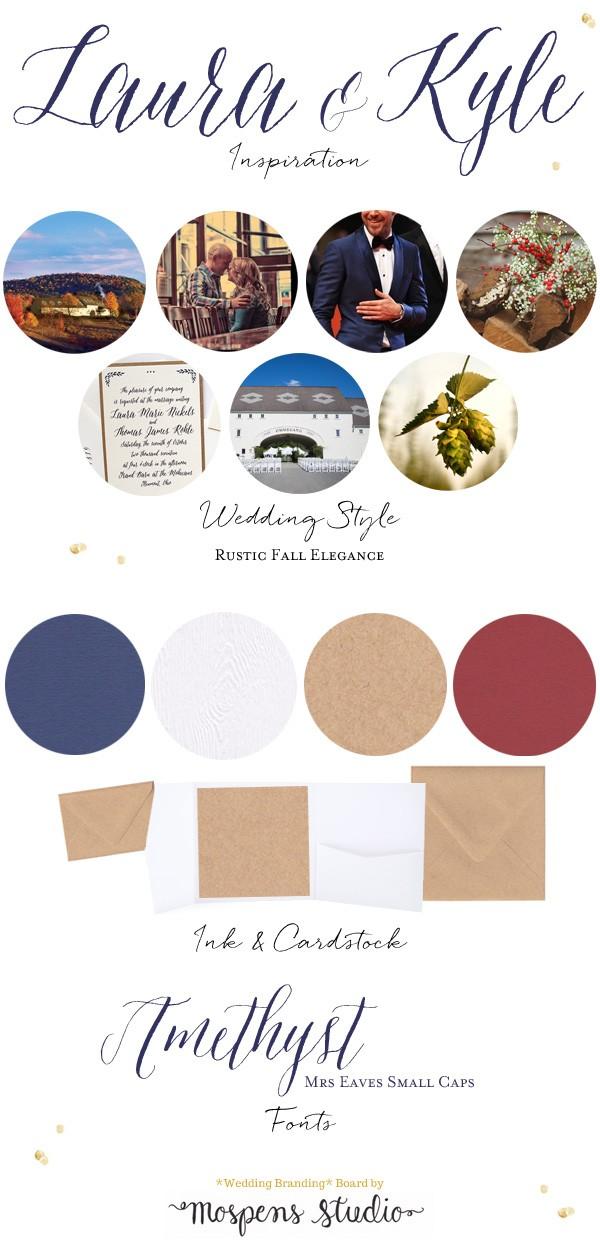 Rustic fall elegance wedding ideas | www.mospensstudio.com