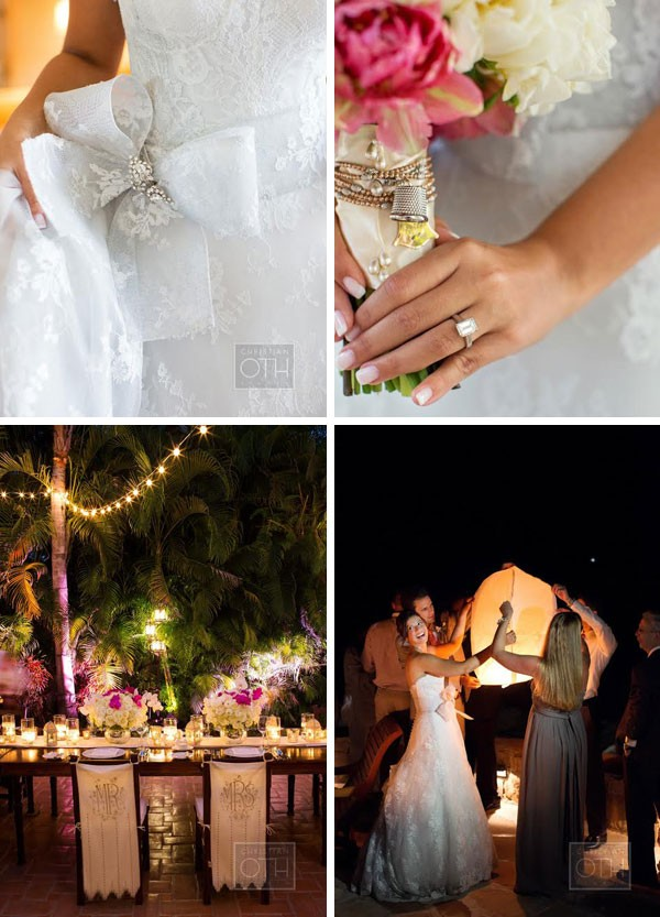 Real Wedding: Destination Wedding Mexico - www.mospensstudio.com