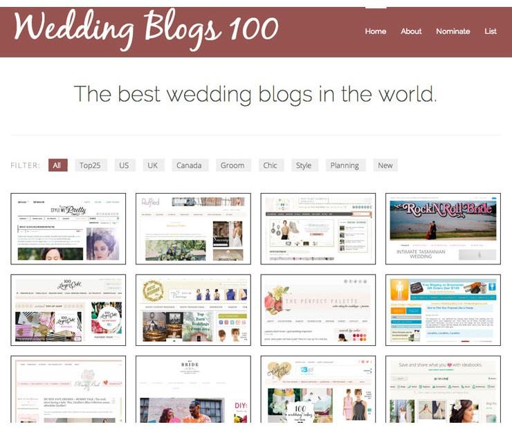 Top 100 Wedding Blogs - www.mospensstudio.com