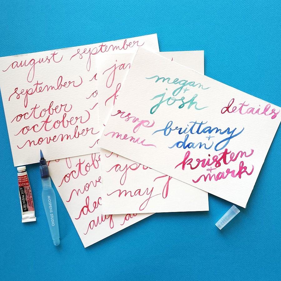 brush-calligraphy